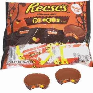 Reese's Pieces PB Cups Snack Size (16 Count Bag)