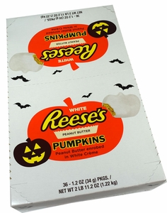 Reese's White Chocolate Peanut Butter Pumpkins 36 Count