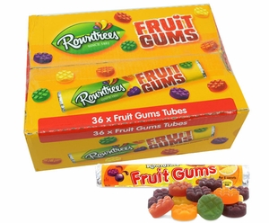 Rowntrees Fruit Gums 36 Count (UK)