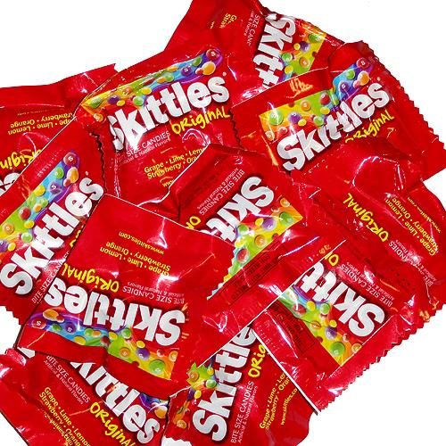 Party Size Bag Of Skittles | Jaguar Clubs of North America