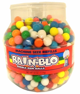 Small Gumballs  Machine Size 750 Count Jar
