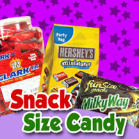 Snack Size Candy Bars