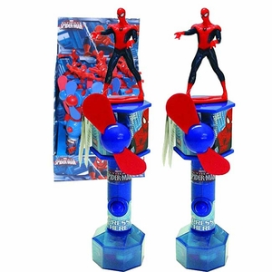 Spider Man Fan Toy & Candy 12 Count