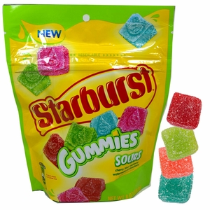 Starburst Gummies Sours 8oz Bag