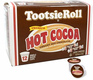 Tootsie Roll Hot Cocoa K Cups 12 Count