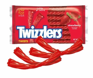 Twizzlers Strawberry Theater Pack 5oz Bag