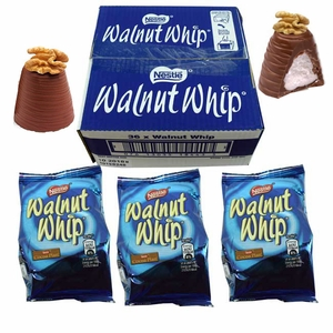 Walnut Whip Candy Bars 36 Count (Import)