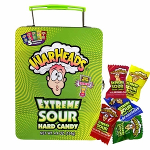 Warheads Candy Filled Lunch Box