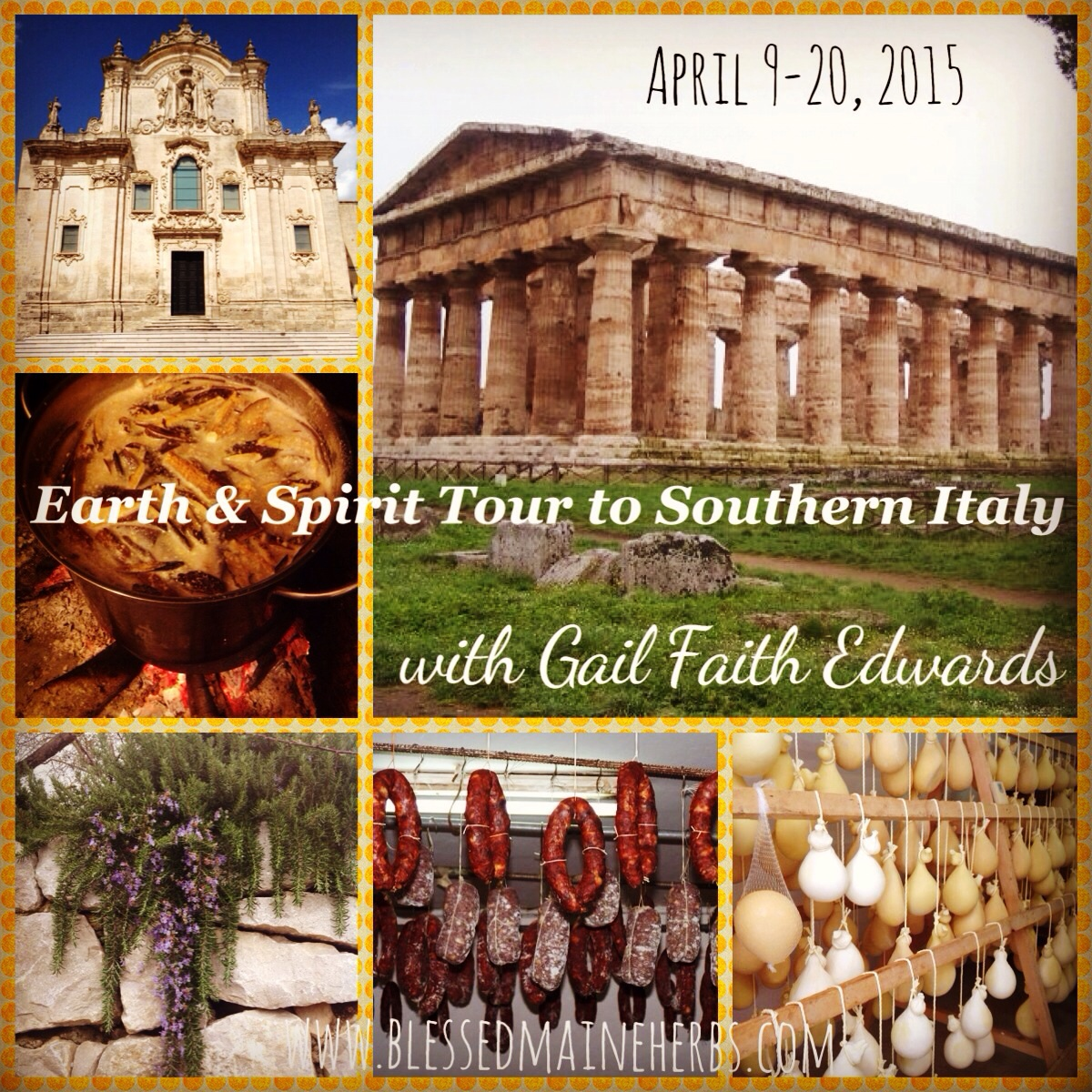 Italy Earth Spirit Tour April - Tour to italy