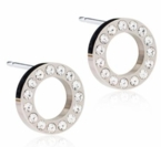 Brilliance Puck Hollow 10mm Earrings