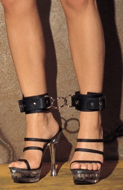 Ankle Cuffs with Middle Ring