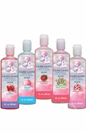 Candiland Sensuals Flavored Body Glide Assorted 5 Pack 1 Ounce Each