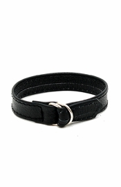 Deluxe Plain Leather Cock Strap