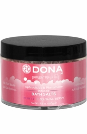 Dona Bath Salt Blushing Berry 7.5oz