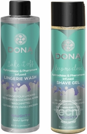 Dona Be Sexy Gift Set Lingerie Wash And Shave Gel Sinful Spring
