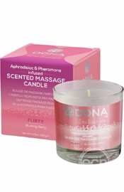 Dona Massage Candle Blushing Berry 4.75 oz.