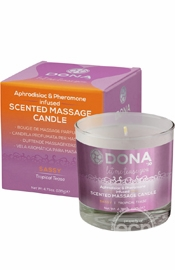 Dona Massage Candle Tropical Tease 4.75 oz.
