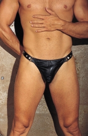 Donovan's Door - Studded Leather Underwear