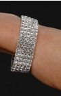 Five Row Crystal Bracelet