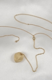 Gold Waist Chain with Insertable Penis Head Orb Jewel