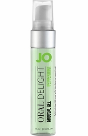 Jo Oral Delight Flavored Arousal Gel Peppermint Pleasure 1 Ounce
