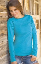Country Living - Long Sleeve Jersey Tee