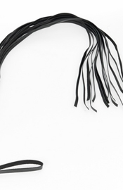 Leather Flogger Bondage Whip with 14 Strings