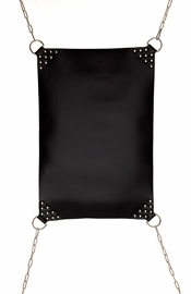 Leather Hammock with Extra Heavy Joints and D Rings Bondage Gear