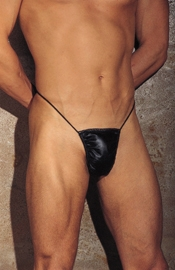 Romeo Conquers Juliet - Leather Thong