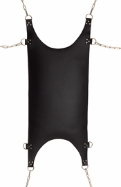 Leather Scoop Hammock with D Rings
