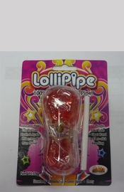 Lollipipe Edible Candy Pipe