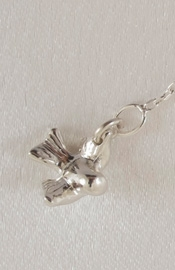 Love the Way You Lie - Silver Wrist or Ankle Chain with Bird Pendant