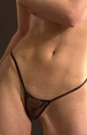 Lovin' You - Sheer Lace G-String