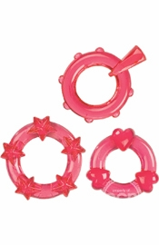 Magic C-Rings - Red - Sex Toy