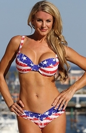 Malibu Lagoon - American Flag Bikini - Regular Price $99.49