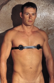 Men's Nipple Harness with Spikes Inside