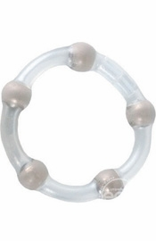Metallic Bead Ring - Sex Toy
