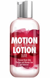 Motion Lotion  Elite Flavored Body Lotion – Wild Cherry 6 fl. oz.