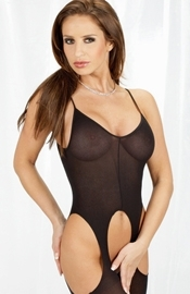 Never Enough - Crotchless Catsuit