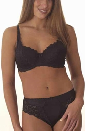 Not Until You Dare - Full Figure Bra and Panty