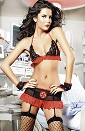 Nurse Nancy - Sexy Nurse Costume Lingerie Set