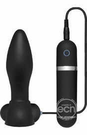 Platinum The Touch Vibrating Plug Black