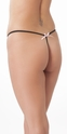 Playing for Keeps - Open Crotch G String Panty