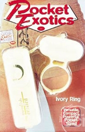 Pocket Exotic-Ivory Ring - Sex Toy