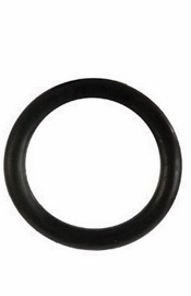 Rubber Ring  Black Large - Sex Toy