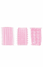 Senso Rings-3 Pack Pink - Sex Toy
