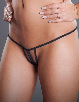 Decadent - Crotchless G-String Panty