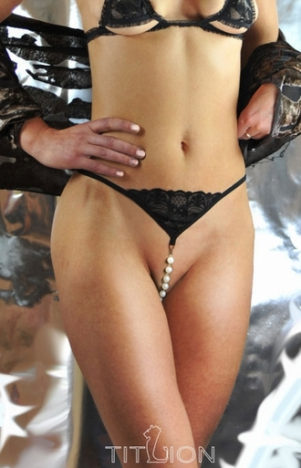 Bared to You -  Crotchless G-String Panty