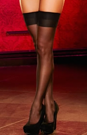 Sheer Thigh High Hosiery