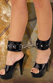 Soft Cushioned Ankle Cuffs with Carabine Hooks